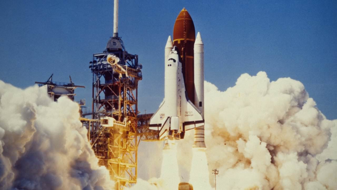 space shuttle challenger news report - photo #12